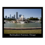 Buckingham Fountain, Chicago Postcard