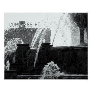 Buckingham Fountain, Chicago Poster