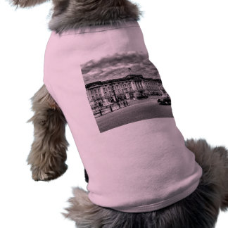 Buckingham Palace Art Sleeveless Dog Shirt