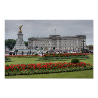 Buckingham Palace in London England Poster