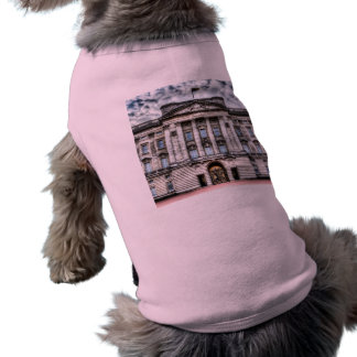 Buckingham Palace London Sleeveless Dog Shirt