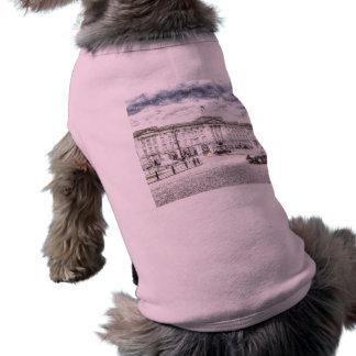 Buckingham Palace Snow Sleeveless Dog Shirt