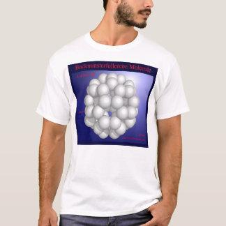 Buckminsterfullerene Molecule (front) T-Shirt