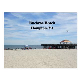 Buckroe Beach, Hampton, Virginia Postcard