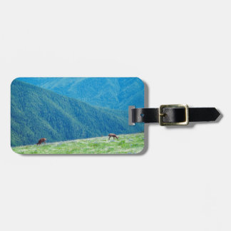 Bucks by the Mountains Luggage Tag