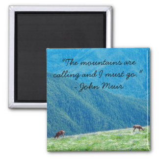 Bucks by the Mountains Magnet