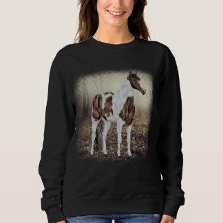 Buckskin Tobiano Paint Horse Sweatshirt
