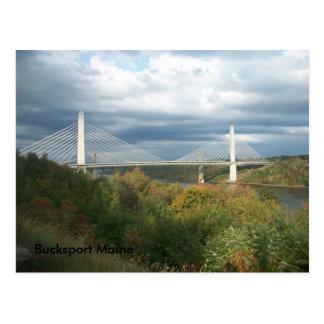 Bucksport Maine postcard