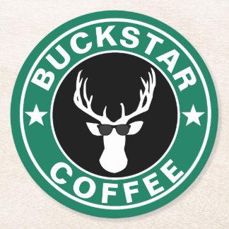 BUCKSTAR Coffee Round Paper Coaster