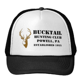 Bucktail Hunting Club Hat \ Printed