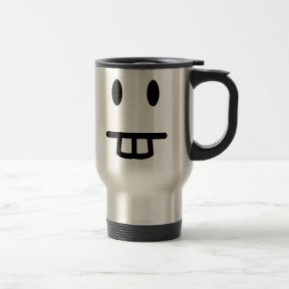 Bucktooth Face Travel Mug