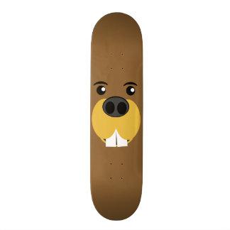 Bucky Beaver Face Skate Deck