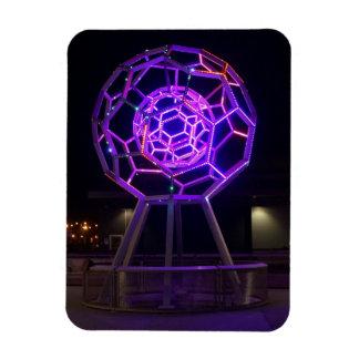 Buckyball Sculpture #5-1 Magnet