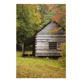 Bud Ogle House, Great Smoky Mountains National Art Photo