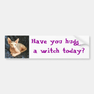 Buda 8, Have you hugged a witch today? Bumper Sticker