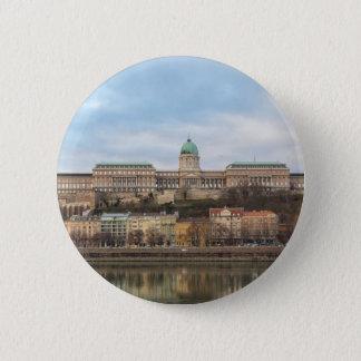 Buda Castle Hungary Budapest at day 6 Cm Round Badge
