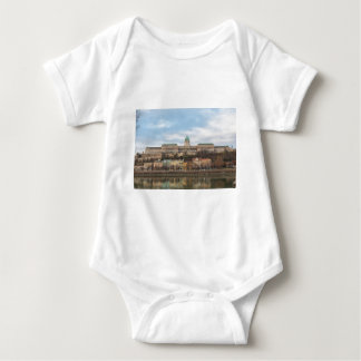 Buda Castle Hungary Budapest at day Baby Bodysuit