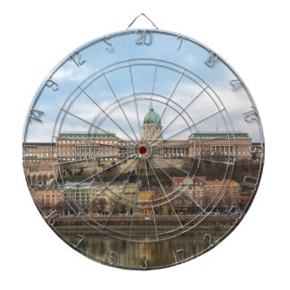 Buda Castle Hungary Budapest at day Dartboard