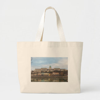 Buda Castle Hungary Budapest at day Large Tote Bag