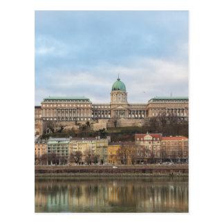 Buda Castle Hungary Budapest at day Postcard