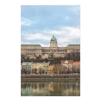 Buda Castle Hungary Budapest at day Stationery