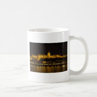 Buda Castle Hungary Budapest at night Coffee Mug