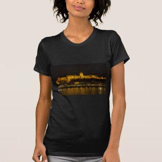 Buda Castle Hungary Budapest at night T-Shirt