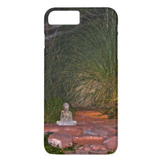 Buda meditating at night iPhone 7 plus case