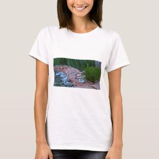 Buda meditating by the stream T-Shirt