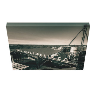 Buda Mill and Grain Canvas Print