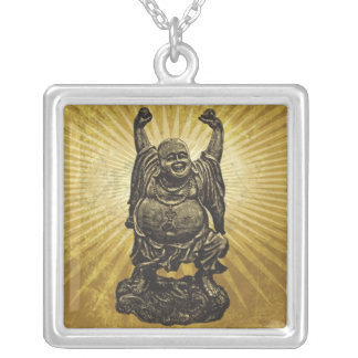 Buda Silver Plated Necklace