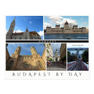 Budapest by Day Postcard