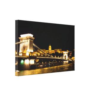Budapest Canvas