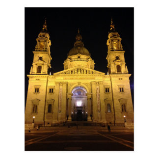 Budapest Cathedral Postcard