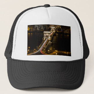 Budapest Chain Bridge Trucker Hat