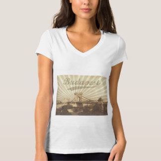 Budapest Chain Bridge Vintage T-Shirt