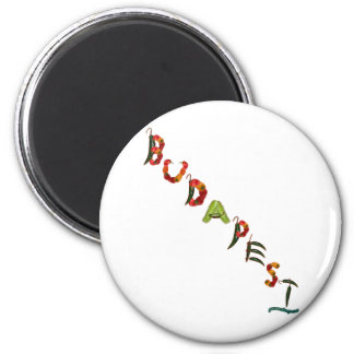 Budapest Chili Peppers Magnet