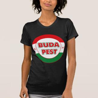 Budapest, circle, color T-Shirt