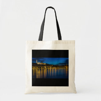 Budapest Danube River Reflection Water At Night PH Tote Bag