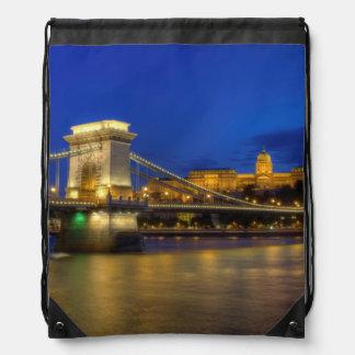 Budapest, Hungary Drawstring Bag