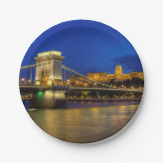 Budapest, Hungary Paper Plate