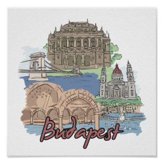 Budapest - Hungary.png Poster