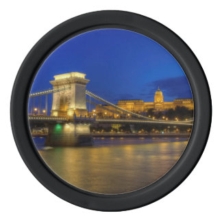 Budapest, Hungary Poker Chips Set