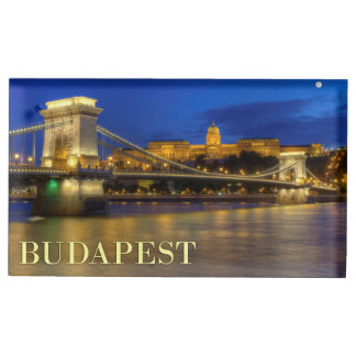 Budapest, Hungary Table Card Holder