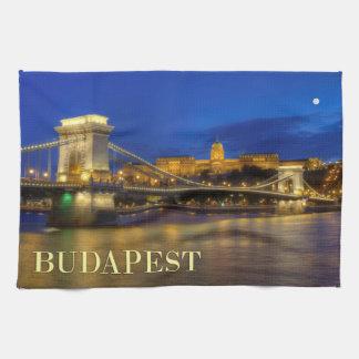 Budapest, Hungary Tea Towel
