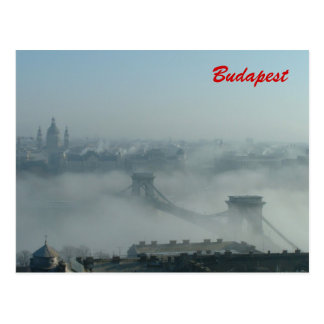 Budapest in Winter Postcard