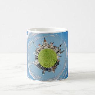 budapest little tiny planet travel tourism hungary coffee mug