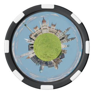 budapest little tiny planet travel tourism hungary poker chips
