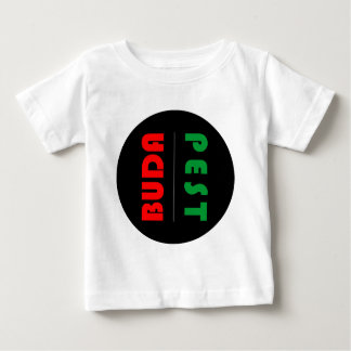 Budapest minimalist - circle - 01 baby T-Shirt
