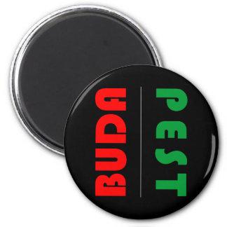 Budapest minimalist - circle - 01 magnet